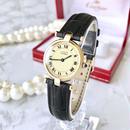 Cartier カルティエ マスト ヴァンドーム OH済 クォーツ レディース 腕時計