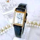 YSL イヴサンローラン  OH済 ベルト2色付 ゴールド 時計