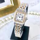 Cartier カルティエ パンテール SM コンビ ダイヤモンド 33P 腕時計