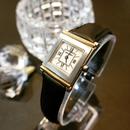 YSLイヴサンローラン ベルト2種付 スクエアフェイス腕時計