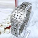 Cartier カルティエ パンテール  天然ダイヤモンド 95P 二重ダイヤベゼル レディース 腕時計