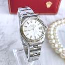 ROLEX ロレックス 18Kベゼル オイスター デイト レディース 腕時計