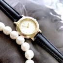 YSL イヴサンローラン ラウンドフェイス スモール 腕時計