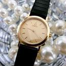 OMEGAオメガ デビル ラウンド  K18GP 腕時計