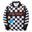 NIKE LAB × OFF WHITE FOOTBALL JERSEY AWAY CHECKER  ナイキ オフホワイト ジャージ ホーム  チェッカー