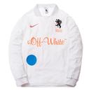 NIKE LAB × OFF WHITE FOOTBALL JERSEY HOME WHITE ナイキ オフホワイト ジャージ ホーム