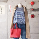 【women】ancre〈アンクレ〉 別注 レザートート RED/BLACK
