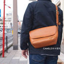 Butler Verner Sails〈バトラーバーナーセイルズ〉 FLAP SHOULDER BAG CAMEL/BROWN