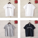 【women】a piece of Library〈ピースオブライブラリー〉 Marseille Tee (No.216120) WHITE/GREY/NAVY