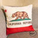 カリフォルニア州旗クッションカバー