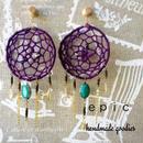 dreamcatcher fringe earrings