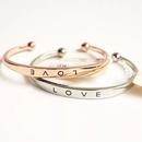 """LOVE"" bangle"