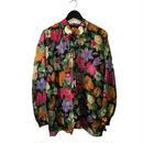 flower gold line design blouse