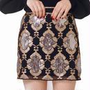 motif bijou skirt