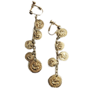 coin swing earrings