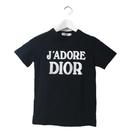 Dior logo Tee black