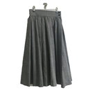 Yves Saint Laurent check flare skirt