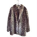 【スペシャルプライス】design pattern fur coat