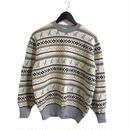 Dior nordic design knit