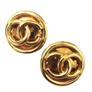 vintage CHANEL round earrings