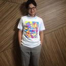 和田みづほ オリジナルTシャツ  づーべあT  白/黒
