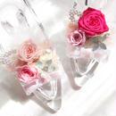 【カラー選べます!】ガラスの靴アレンジメント