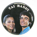 Vintage tai and randy pinbacks 520