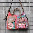 新品:【Desigual】デザイン・2WAYバッグ