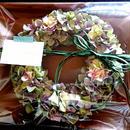 mauve color wreath  φ28