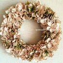 beige wreath  φ25