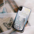 Star bottle quicksand iphone case