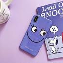Purple face iphone case