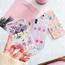 ⚠️発送遅延⚠️Flower multi heart iphone case