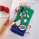 Duck green iphone case