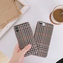 Autumn check iphone case