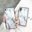 Marble square iphone case