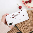 Smile heart iphone case