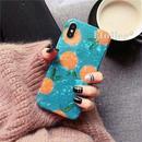 Orange shell iphone case