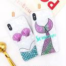 Mermaid shell iphone case