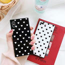 Heart square iphone case