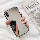 Mirror black side iphone case