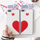Half heart iphone case