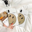 Gold smile iphone case