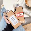Label iphone case