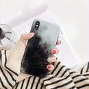 Black galaxy iphone case