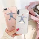 Suit man iphone case
