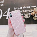 Pink aurora iphone case