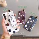 Smile dot laser strap iphone case