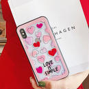 Love is simple clear iphone case