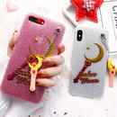 Moon strap iphone case